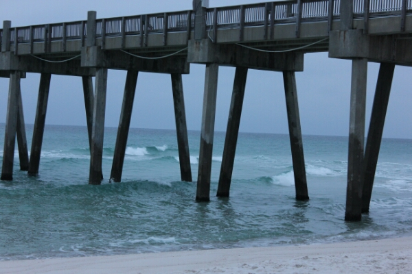 Sunday Sunrise Beach and Surf Report 12/21/14