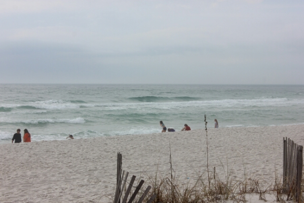 Sunday Midday Beach and Surf Report 12/28/14