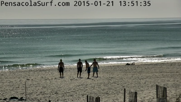 Wednesday Afternoon Beach and Surf Report 01/21/15