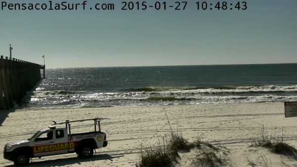 Tuesday Midday Beach and Surf Report 01/27/15
