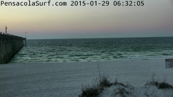 Thursday Sunrise Beach and Surf Report 01/29/15