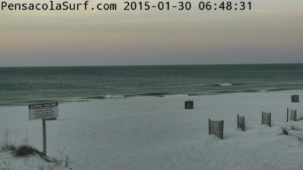 Friday Sunrise Beach and Surf Report 01/30/15