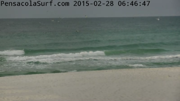 Saturday Sunrise Beach and Surf Report 02/28/15