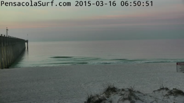 Monday Sunrise Beach and Surf Report 03/16/15