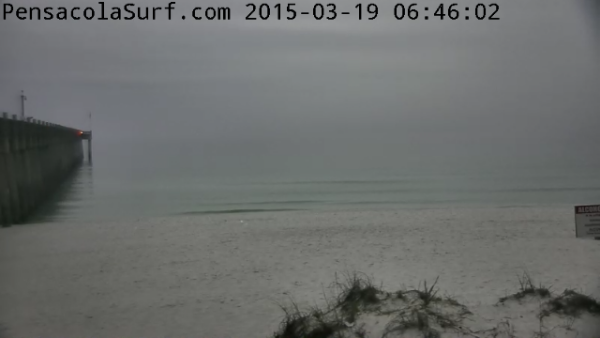 Thursday Sunrise Beach and Surf Report 03/19/15