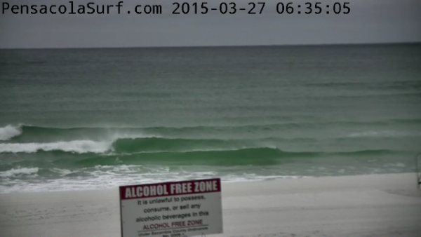 Friday Sunrise Beach and Surf Report 03/27/15