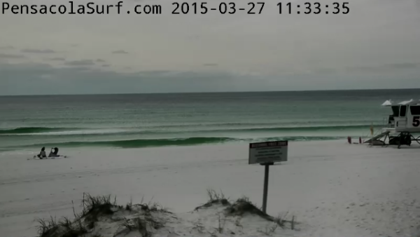 Friday  Midday Beach and Surf Report 03/27/15