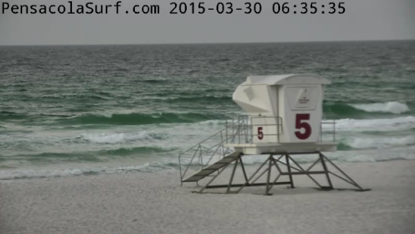 Monday Sunrise Beach and Surf Report 03/30/15
