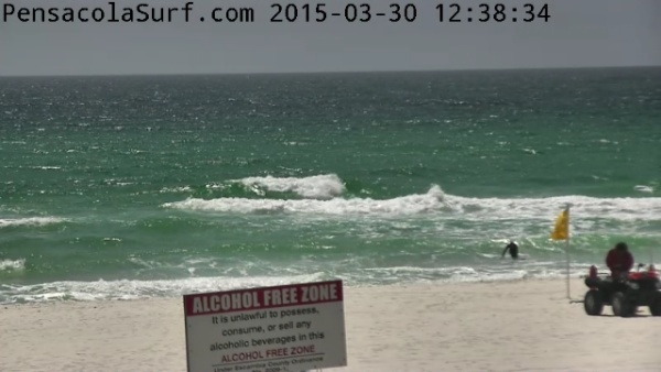 Monday Midday Beach and Surf Report 03/30/15