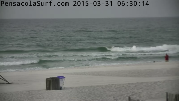 Tuesday Sunrise Beach and Surf Report 03/31/15