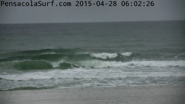Tuesday Sunrise Beach and Surf Report 04/28/15