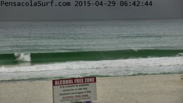 Wednesday Sunrise Beach and Surf Report 04/29/15