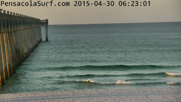 Thursday Sunrise Beach and Surf Report 04/30/15