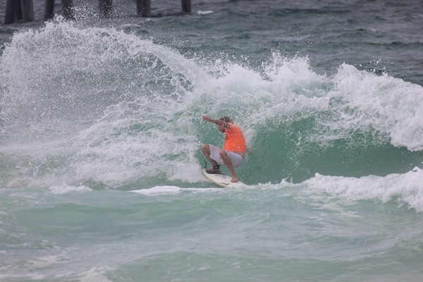 3rd Annual Yancy Spencer Surf Contest Surfing Pictures on Pensacola Beach 05/16/15