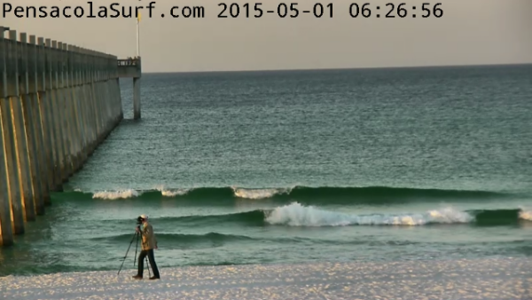 Friday Sunrise Beach and Surf Report 05/01/15
