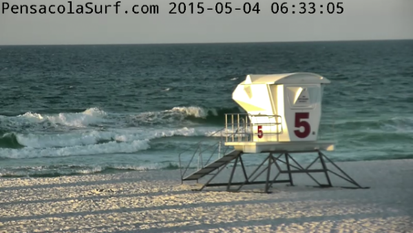 Monday Sunrise Beach and Surf Report 05/04/15