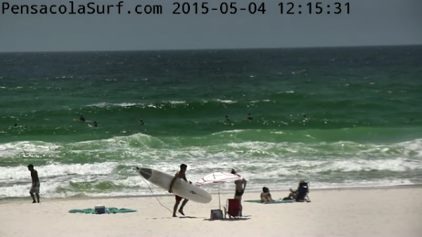 Monday Midday Beach and Surf Report 05/04/15