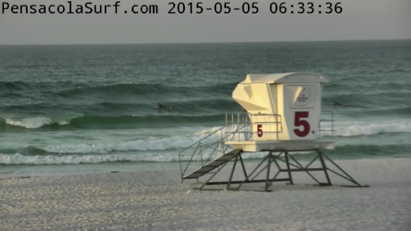 Tuesday Sunrise Beach and Surf Report 05/05/15