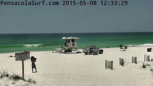 Friday Midday Beach and Surf Report 05/08/15