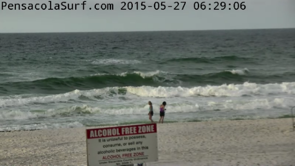 Wednesday Sunrise Beach and Surf Report 05/27/15