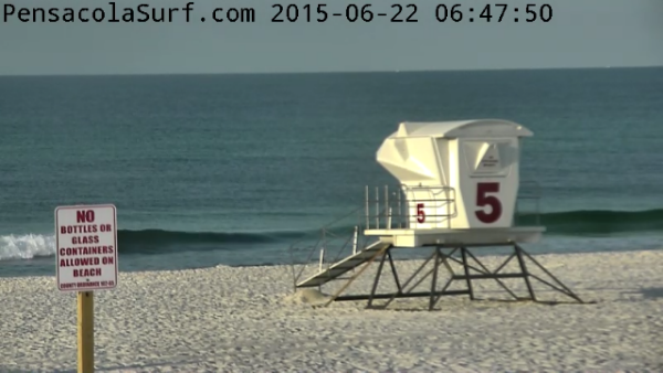 Monday Sunrise Beach and Surf Report 06/22/15