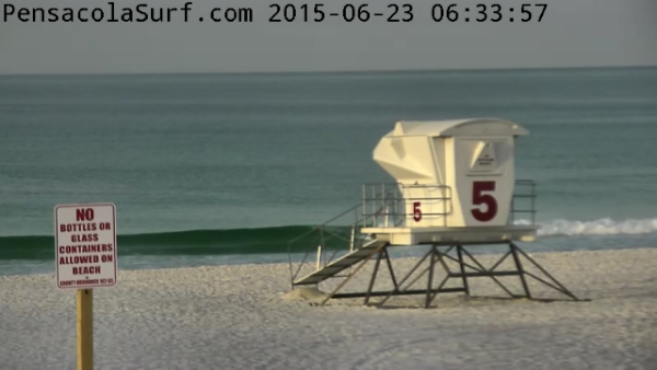 Tuesday Sunrise Beach and Surf Report  06/23/15