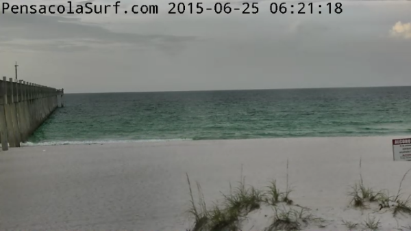Thursday Sunrise Beach and Surf Report  06/25/15