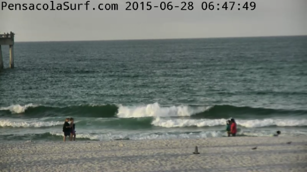 Sunday Sunrise Beach and Surf Report 06/28/15