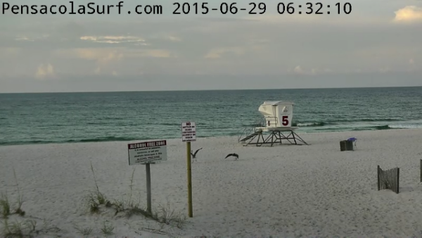 Monday Sunrise Beach and Surf Report 06/29/15