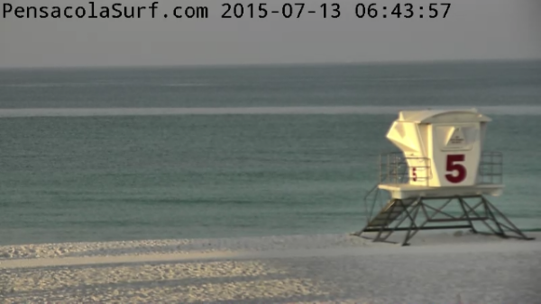 Monday Sunrise Beach and Surf Report  07/13/15