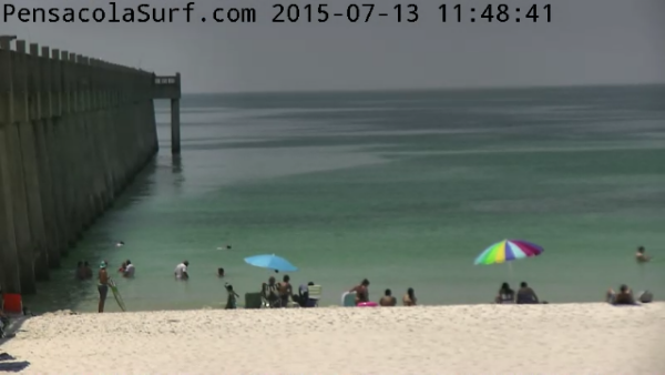 Monday Midday Beach and Surf Report 07/13/15