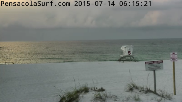 Tuesday Sunrise Beach and Surf Report 07/14/15