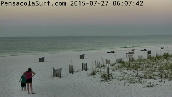 Monday Sunrise Beach and Surf Report 07/27/15