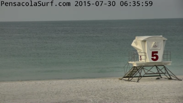 Thursday Sunrise Beach and Surf Report 07/30/15