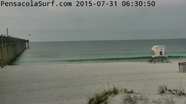 Friday Sunrise Beach and Surf Report 07/31/15