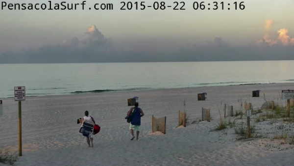 Saturday Sunrise Beach and Surf Report 08/22/15