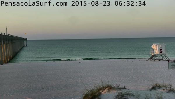 Sunday Sunrise Beach and Surf Report 08/23/15