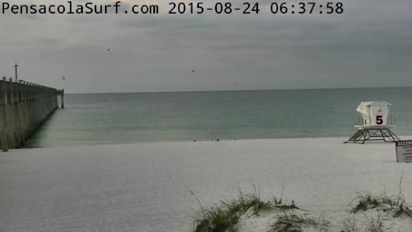 Monday Sunrise Beach and Surf Report 08/24/15