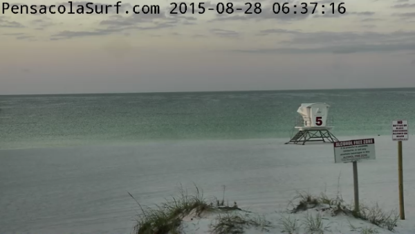 Friday Sunrise Beach and Surf Report 08/28/15