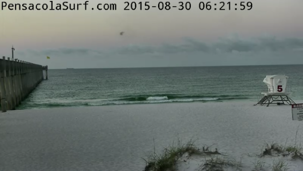 Sunday Sunrise Beach and Surf Report 08/30/15