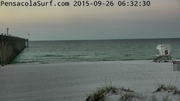 Saturday Sunrise Beach and Surf Report 09/26/15