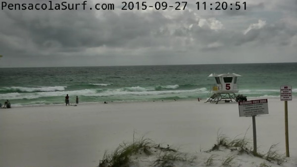 Sunday Midday Beach and Surf Report 09/27/15