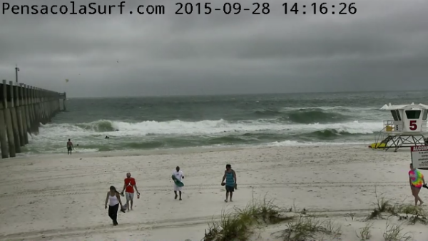 Monday Afternoon Beach and Surf Report 09/28/15