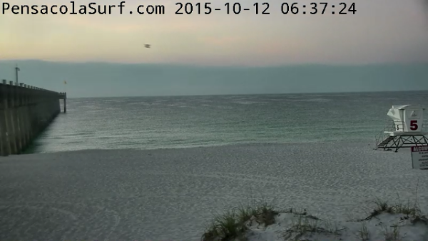 Monday Sunrise Beach and Surf Report 10/12/2015