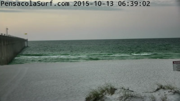 Tuesday Sunrise Beach and Surf Report 10/13/15