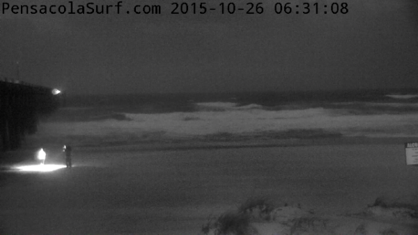 Monday Sunrise Beach and Surf Report 10/26/15
