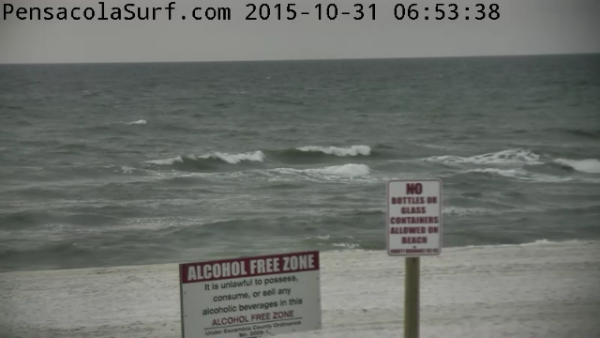 Saturday Sunrise Beach and Surf Report 10/31/2015