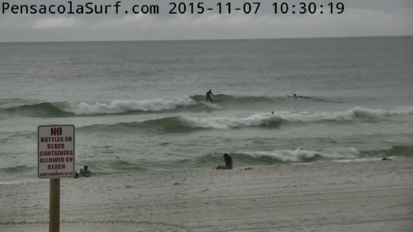 Saturday Midday Beach and Surf Report 11/07/15