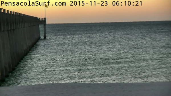 Monday Sunrise Beach and Surf Report 11/23/15