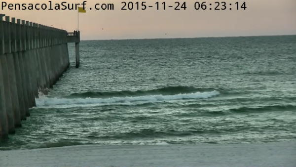 Tuesday Sunrise Beach and Surf Report 11/24/15